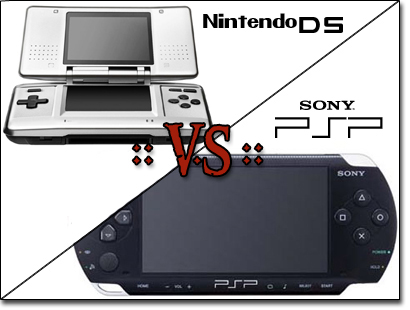 PSP vs DS Rumble